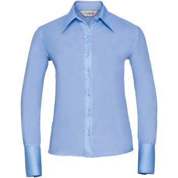 textil Dame Skjorter / Skjortebluser Russell Ultimate Bright Sky