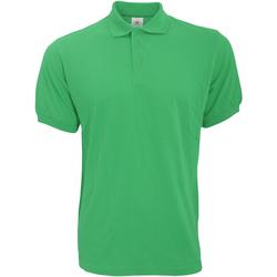 textil Herre Polo-t-shirts m. korte ærmer B And C PU409 Kelly Green