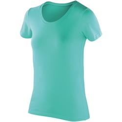 textil Dame T-shirts m. korte ærmer Spiro SR280F Peppermint