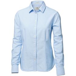 textil Dame Skjorter / Skjortebluser Nimbus Rochester Light Blue