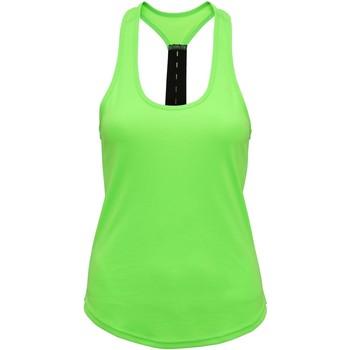 textil Dame Toppe / T-shirts uden ærmer Tridri TR027 Lightning Green