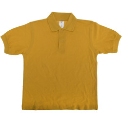 textil Børn Polo-t-shirts m. korte ærmer B And C PK486 Gold