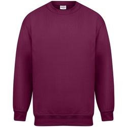 textil Herre Sweatshirts Absolute Apparel Magnum Burgundy