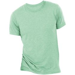 textil Herre T-shirts m. korte ærmer Bella + Canvas CA3413 Mint Triblend