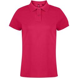 textil Dame Polo-t-shirts m. korte ærmer Asquith & Fox  Hot Pink