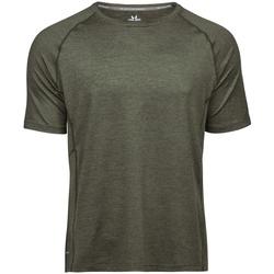 textil Herre T-shirts m. korte ærmer Tee Jays TJ7020 Olive Melange