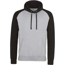 textil Herre Sweatshirts Awdis JH009 Heather Grey/Jet Black