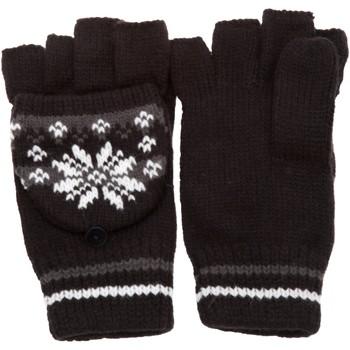 Accessories Dame Handsker Universal Textiles Patterned Black/Grey