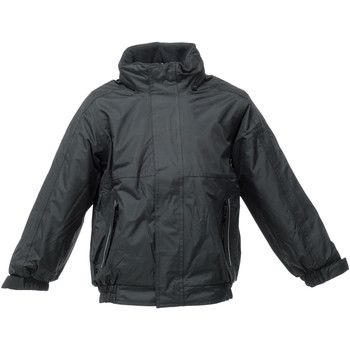 textil Børn Vindjakker Regatta TRW418 Black/Ash