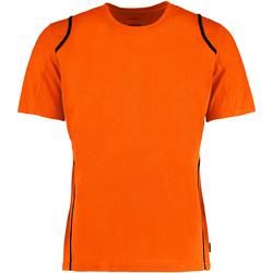 textil Herre T-shirts m. korte ærmer Gamegear Cooltex Fluorescent Orange/Black