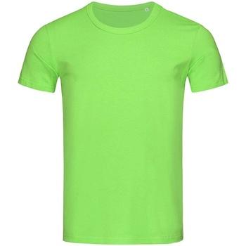 textil Herre T-shirts m. korte ærmer Stedman Stars Stars Green Flash