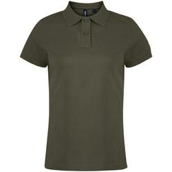 textil Dame Polo-t-shirts m. korte ærmer Asquith & Fox  Slate