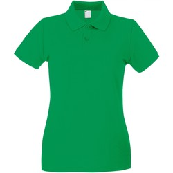 textil Dame Polo-t-shirts m. korte ærmer Universal Textiles 63030 Bright Green