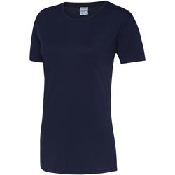 textil Dame T-shirts m. korte ærmer Awdis JC005 Oxford Navy