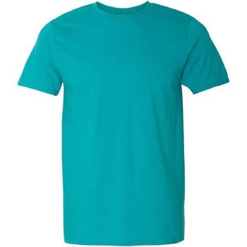 textil Herre T-shirts m. korte ærmer Gildan Soft-Style Jade