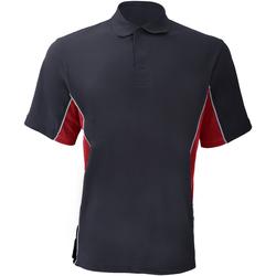 textil Herre Polo-t-shirts m. korte ærmer Gamegear KK475 Navy/Red/White
