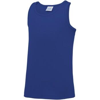 textil Børn Toppe / T-shirts uden ærmer Awdis JC07J Royal Blue