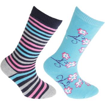 Accessories Børn Strømper Floso Welly Blue/Pink