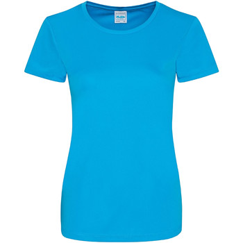 textil Dame T-shirts m. korte ærmer Awdis JC025 Sapphire Blue
