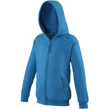 textil Børn Sweatshirts Awdis JH50J Sapphire Blue