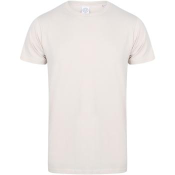 textil Herre T-shirts m. korte ærmer Skinni Fit SF121 Light Stone