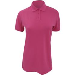 textil Dame Polo-t-shirts m. korte ærmer Kustom Kit Klassic Magenta