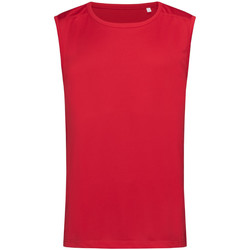 textil Herre Toppe / T-shirts uden ærmer Stedman  Crimson Red