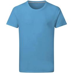 textil Herre T-shirts m. korte ærmer Sg Perfect Turquoise