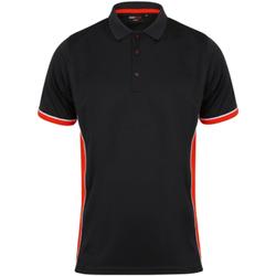 textil Herre Polo-t-shirts m. korte ærmer Finden & Hales TopCool Black/Red/White