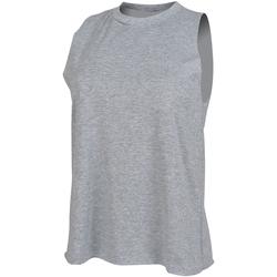 textil Dame Toppe / T-shirts uden ærmer Skinni Fit High Neck Heather Grey
