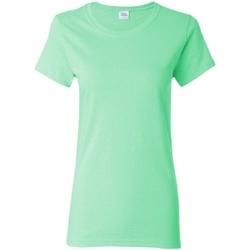 textil Dame T-shirts m. korte ærmer Gildan Missy Fit Mint Green