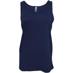 textil Dame Toppe / T-shirts uden ærmer Bella + Canvas CA3480 Navy Blue