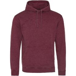 textil Sweatshirts Awdis Washed Washed Burgundy