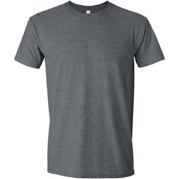 textil Herre T-shirts m. korte ærmer Gildan Soft-Style Dark Heather