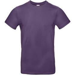 textil Herre T-shirts m. korte ærmer B And C TU03T Radiant Purple