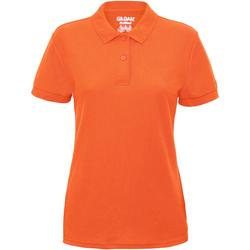 textil Dame Polo-t-shirts m. korte ærmer Gildan 75800L Safety Orange