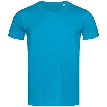 textil Herre T-shirts m. korte ærmer Stedman Stars Stars Hawaii Blue