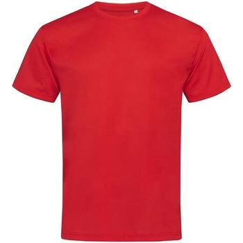 textil Herre T-shirts m. korte ærmer Stedman  Crimson Red