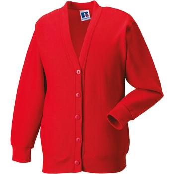 textil Børn Veste / Cardigans Jerzees Schoolgear 273B Bright Red