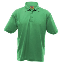 textil Herre Polo-t-shirts m. korte ærmer Ultimate Clothing Collection UCC004 Kelly Green
