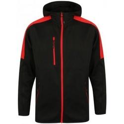 textil Herre Vindjakker Finden & Hales LV622 Black/Red