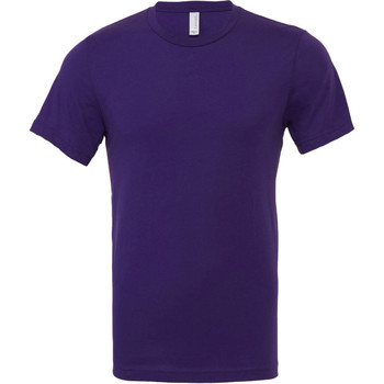 textil Herre T-shirts m. korte ærmer Bella + Canvas CA3001 Team Purple