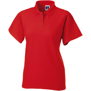 textil Dame Polo-t-shirts m. korte ærmer Jerzees Colours 539F Bright Red