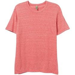 textil Herre T-shirts m. korte ærmer Alternative Apparel AT001 Eco Red