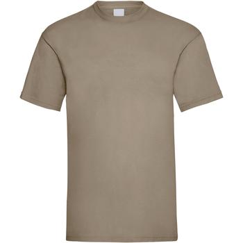 textil Herre T-shirts m. korte ærmer Universal Textiles 61036 Sand