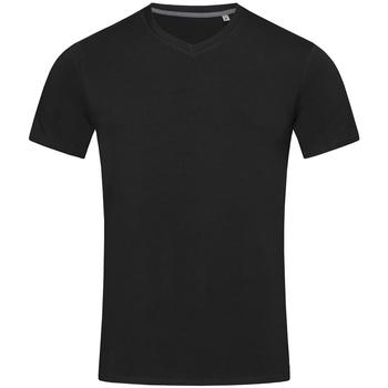 textil Herre T-shirts m. korte ærmer Stedman Stars Clive Black Opal