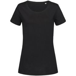 textil Dame T-shirts m. korte ærmer Stedman Stars Sharon Black Opal