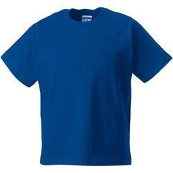 textil Børn T-shirts m. korte ærmer Jerzees Schoolgear ZT180B Bright Royal