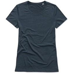textil Dame T-shirts m. korte ærmer Stedman  Marina Heather