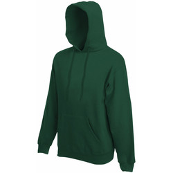 textil Herre Sweatshirts Fruit Of The Loom 62208 Bottle Green